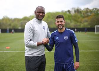 David Villa extends New York City FC contract up to 2018