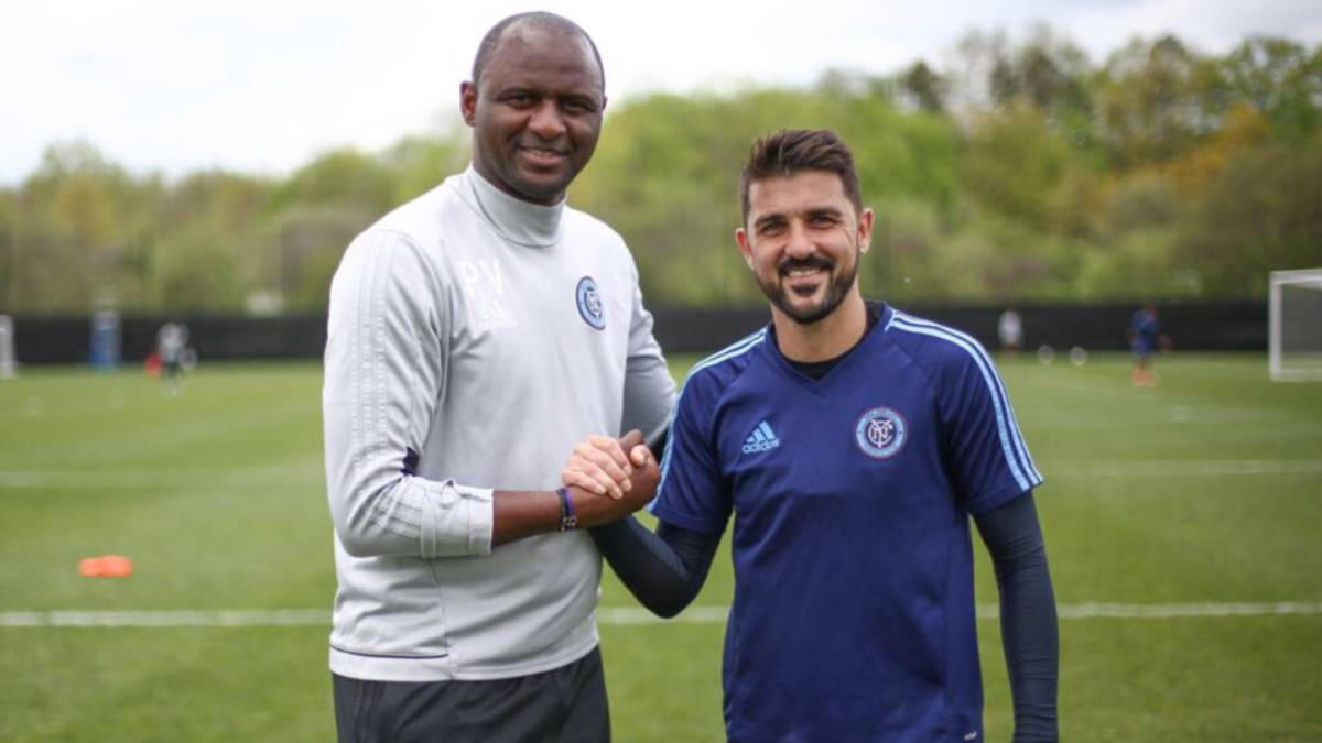 David Villa renueva con New York City hasta 2018
