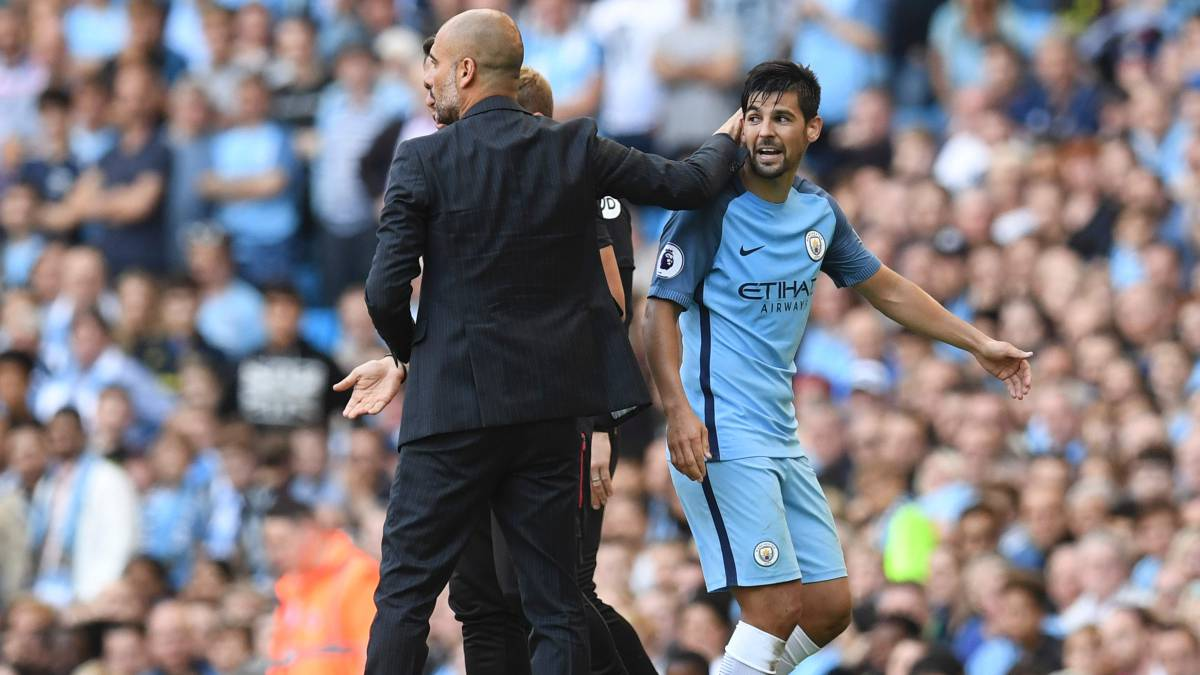 Manchester City: Nolito suggests he could leave in summer