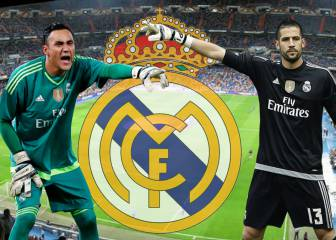 Keylor and Casilla batten down the hatches for Real Madrid