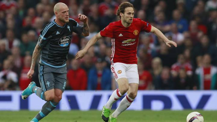 Manchester United-Celta: Guidetti tuvo la final en sus botas