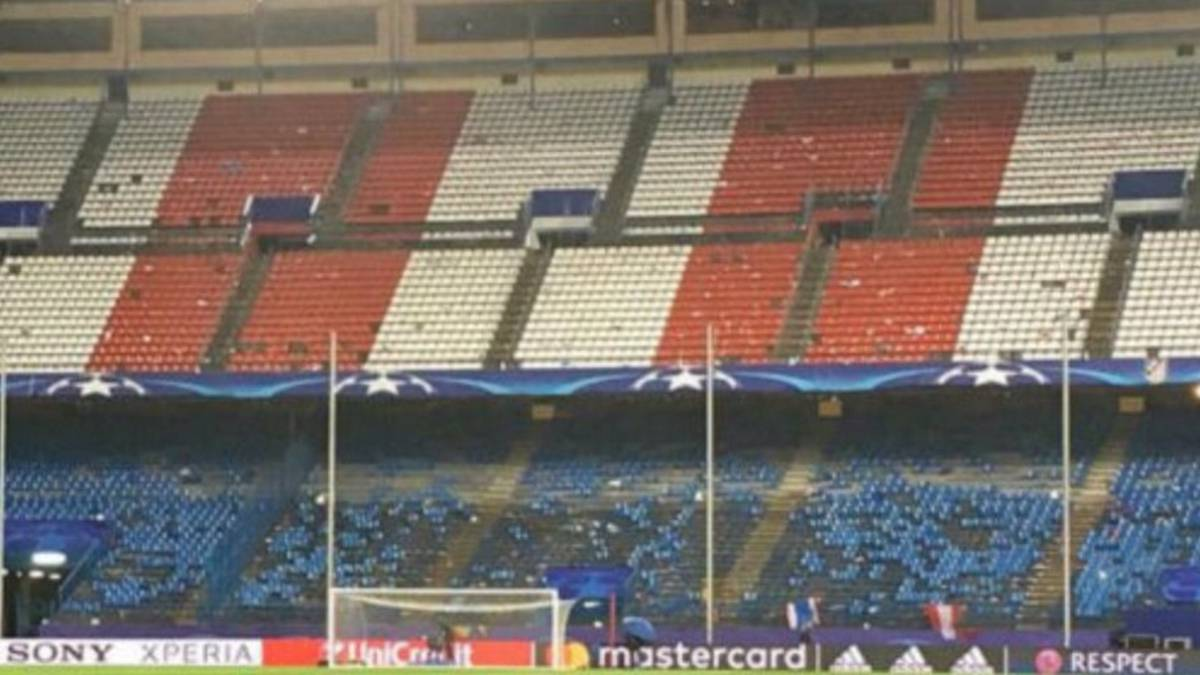 Atlético fans plunder Calderón as seats ripped out and taken home