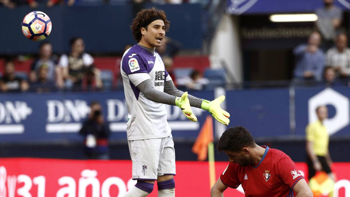 Granada's Ochoa breaks single season goals conceded record