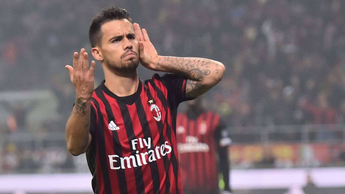 Atlético eyeing move for Milan's Suso to replace Gaitán