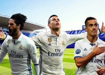 Ronaldo, Isco and Lucas Vázquez available for Málaga