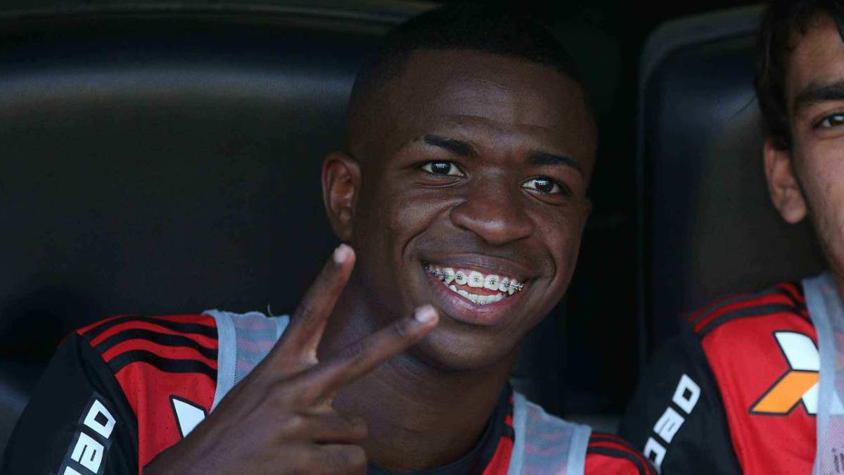 """Vinicius ya es del Real Madrid"""