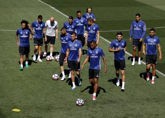 Zidane travels to Málaga with a full squad, including Enzo
