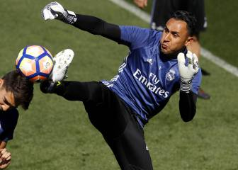 Keylor: two finals to convince the Madrid board