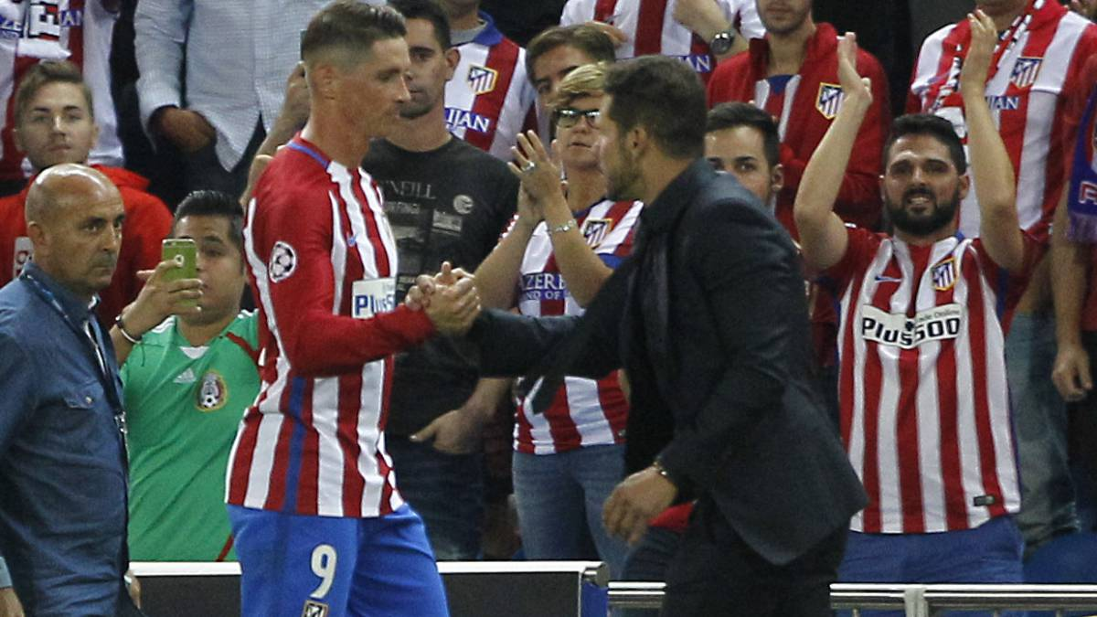 "Simeone tells Torres straight: ""You're in my plans..."""