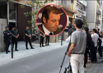 Ex-Barça president Sandro Rosell detained over money laundering
