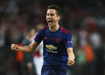 Ander Herrera, MVP en la final de la Europa League