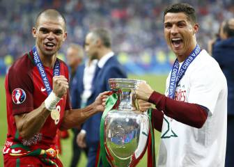 Cristiano Ronaldo and Pepe in Portugal squad for Confed Cup