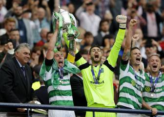 Last gasp Rogic gives Celtic domestic treble