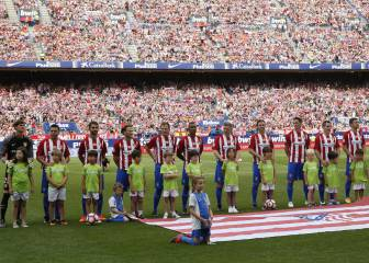 Atlético Madrid say final farewell to the Calderón