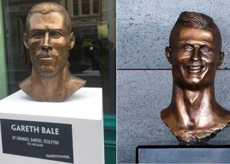 Cristiano bust sculptor strikes again with Gareth Bale