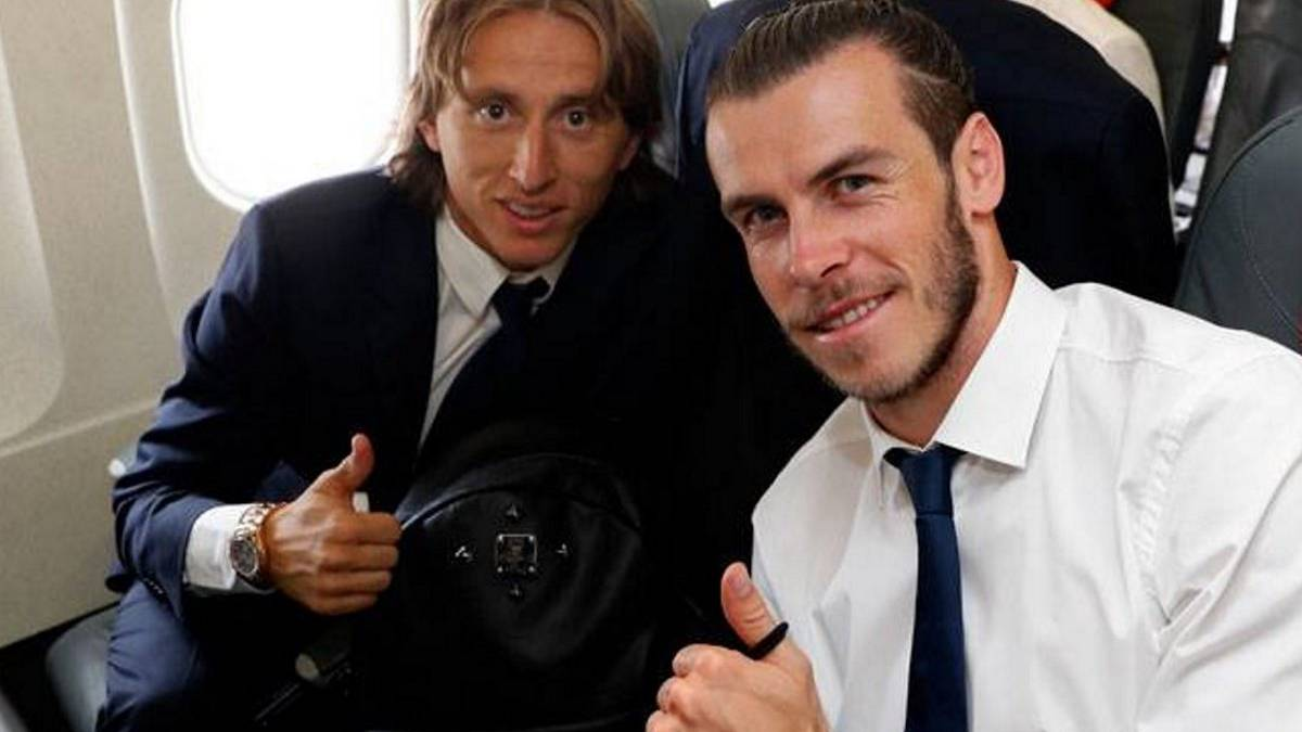 Modric and Bale Real Madrid