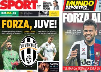 Barça newspapers declare love for Juve
