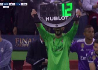 Kiko Casilla wins over Madrid fans with cheeky celebration