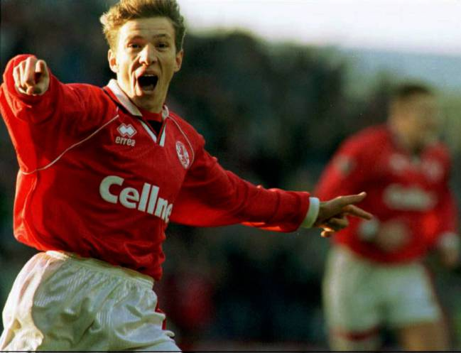 Juninho con el Middlesbrough.