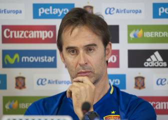Lopetegui: 'Carvajal and Pique? There is no reconciliation needed'