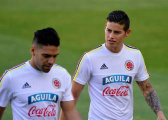 James, Falcao y Colombia, sparrings de muy alta gama