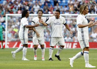 Madrid Galácticos thump Roma as Ronaldo returns to the Bernabéu