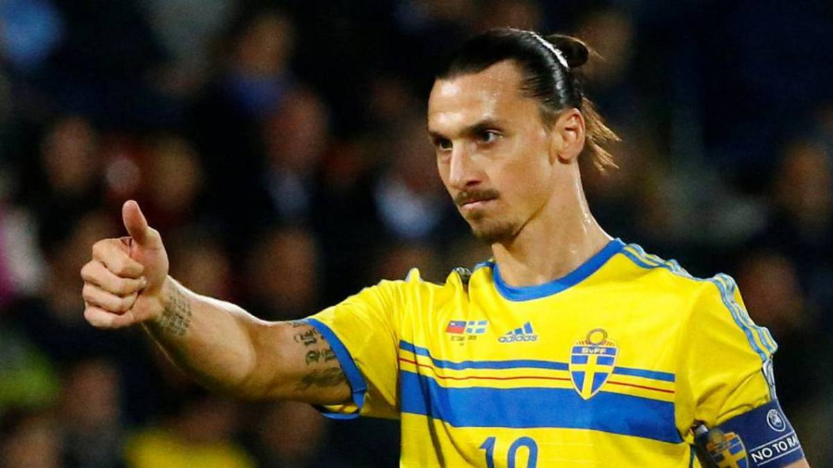 Resultado de imagen para zlatan ibrahimovic suecia