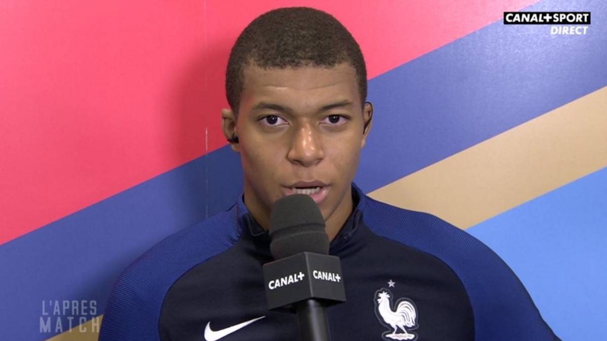 "Mbappé: ""Real Madrid have wanted me since I was 14"""