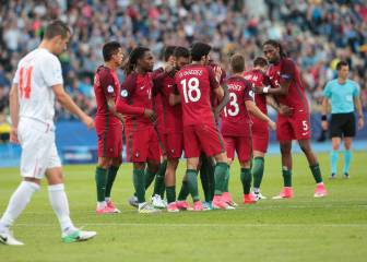 Gonçalo Guedes guía a Portugal al triunfo ante Serbia
