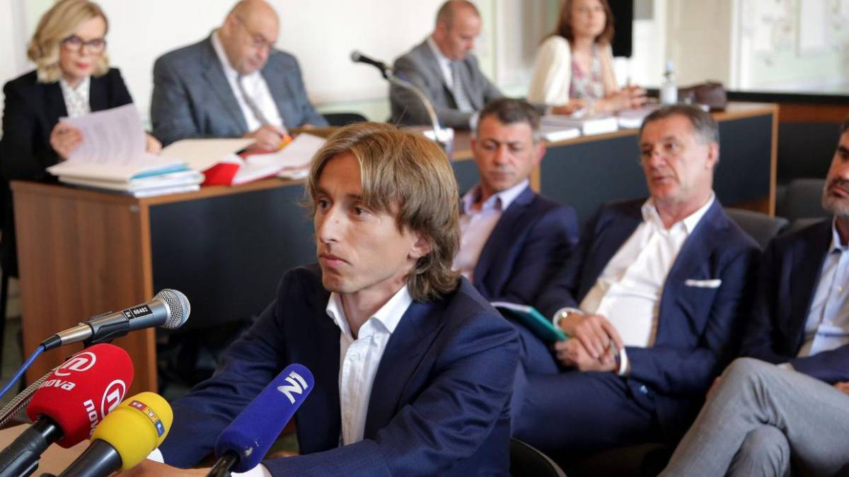 Luka Modric investigated for perjury in Croatia
