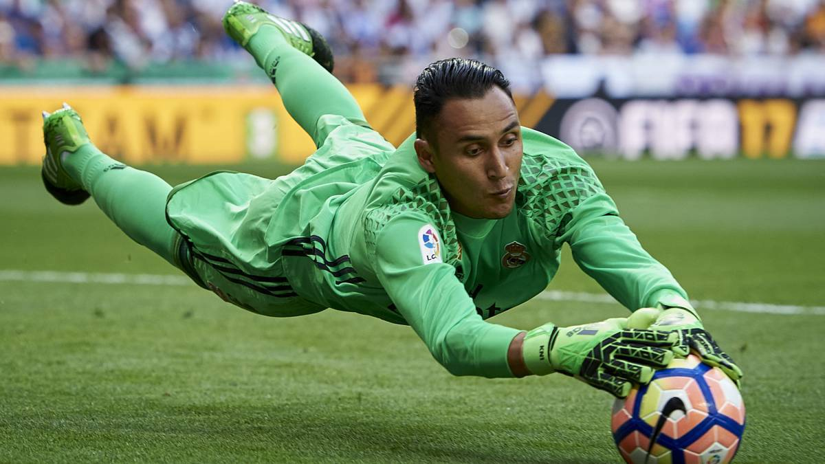 Barcelona and Atlético Madrid rejected Keylor Navas in 2008