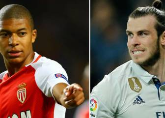 Real Madrid fans choose Mbappé over Bale