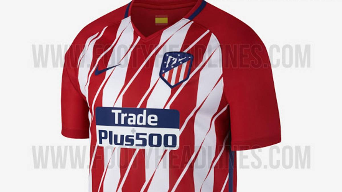 Atletico Madrid's new jersey possibly leaked online