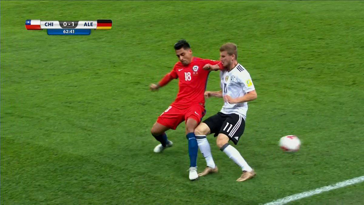 Jara escapes red for blatant elbow as VAR flaws remain
