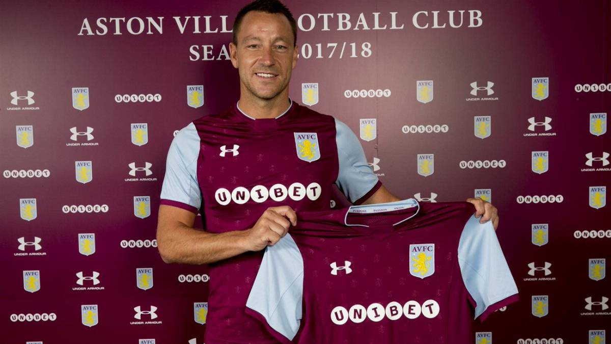 John Terry: Aston Villa sign former Chelsea captain