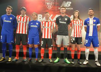 Athletic Club unveil home and away kits for 2017/18