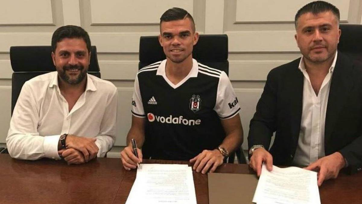 Pepe completes two year deal with Turkish champions Besiktas