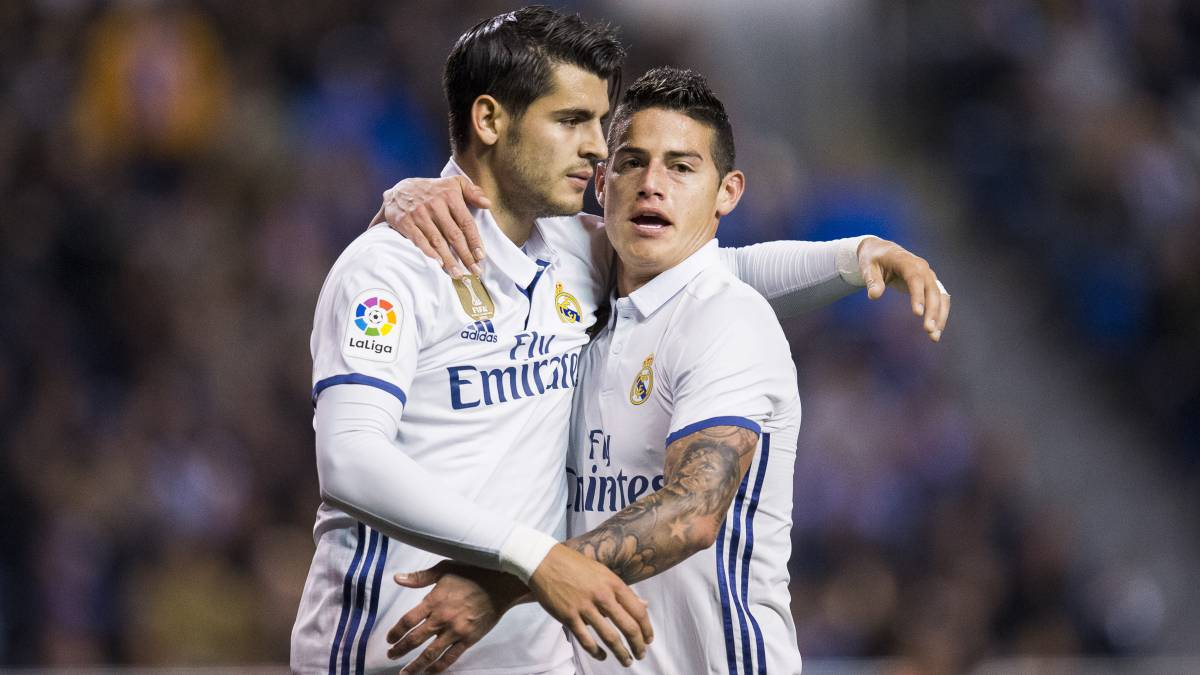 La PRemier League se fija en el Real Madrid: Bale, Morata, James...