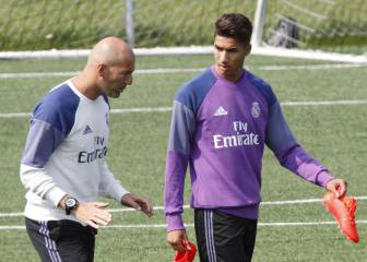Achraf in frame to replace Danilo, will go on Real Madrid's US tour