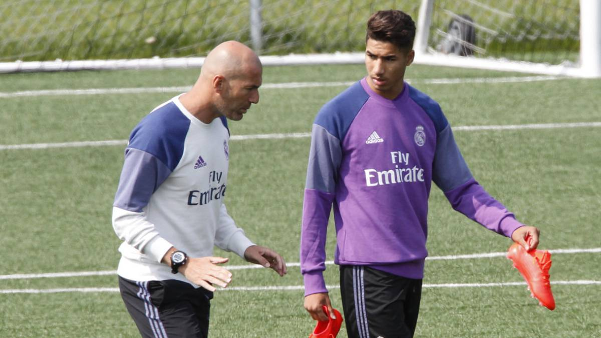 Real Madrid: Achraf in frame to replace Danilo, will go on US tour