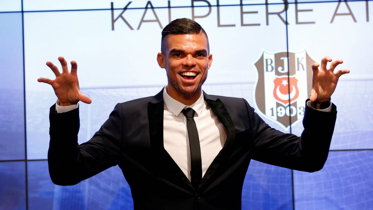 Pepe: Besiktas unveil former Real Madrid defender
