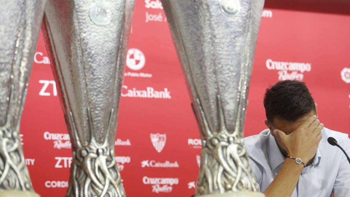 "Vicente Iborra: ""I wasn't born a Sevilla fan but I will die as one"""