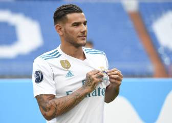 Theo Hernández's Real Madrid unveiling in pictures