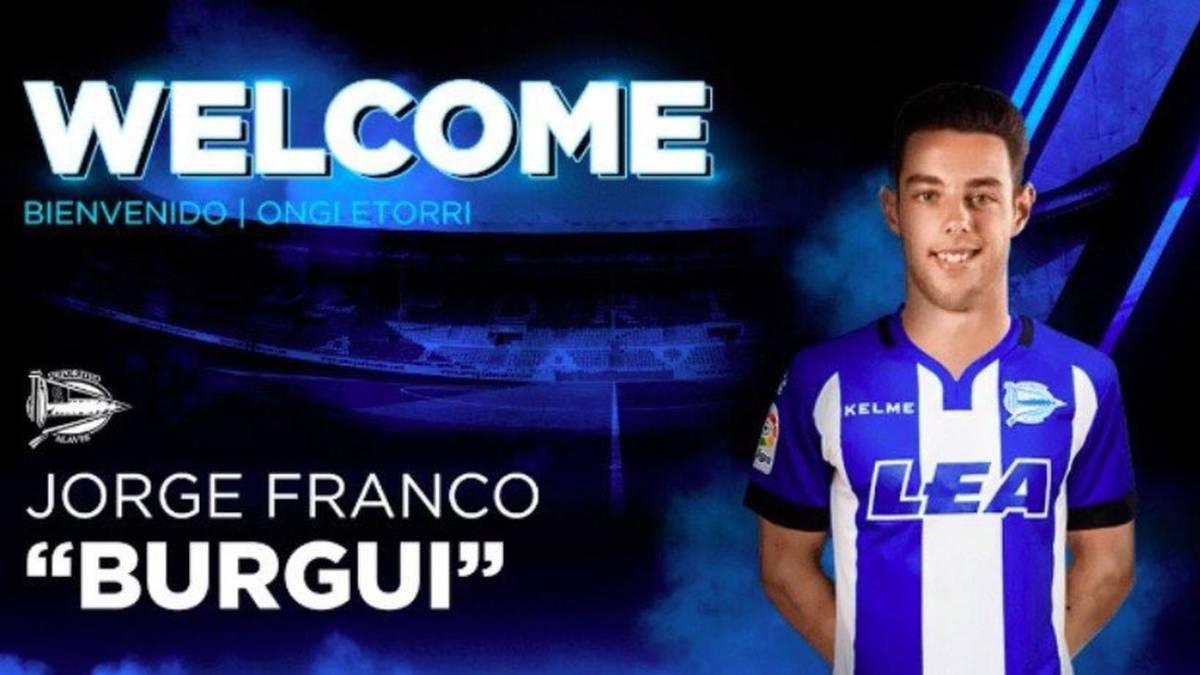 El Alavés ficha a Burgui para las próximas cuatro temporadas