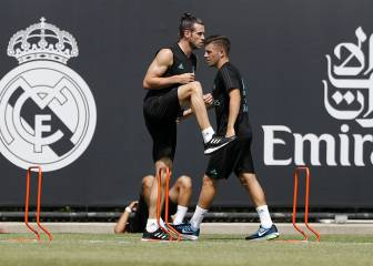 Real Madrid's first US training session in pictures