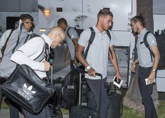 Real Madrid have arrived in Beverly Hills