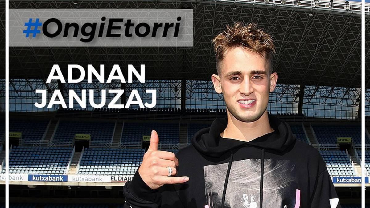 Oficial: Januzaj firma hasta 2022 con la Real Sociedad