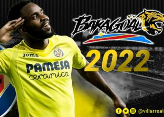 Cédric Bakambu renews with Villarreal until 2022