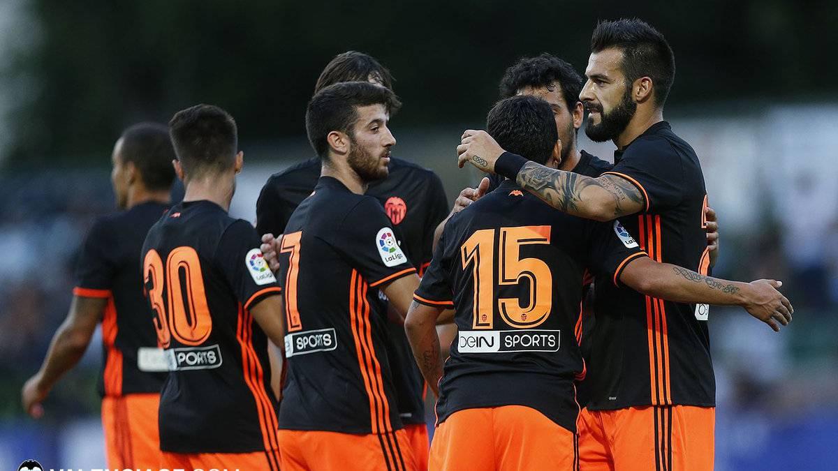 Sporting Portugal 0-3 Valencia: goleada de los de Marcelino en su segundo partido de Pretemporada