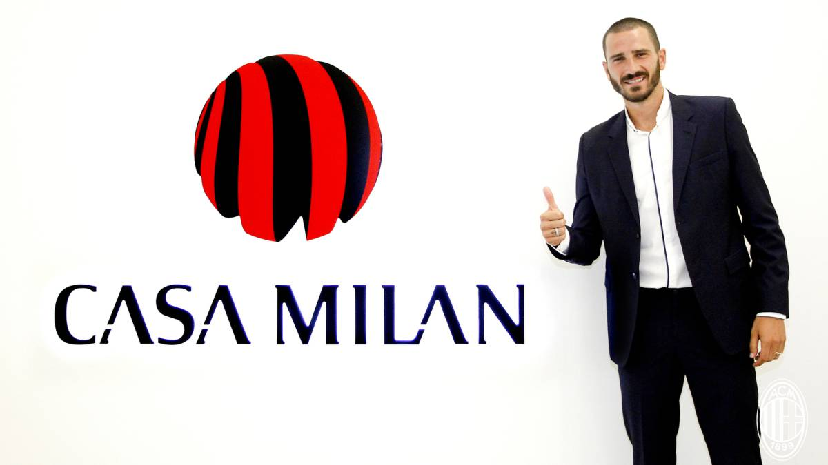 bd1be83da Leonardo Bonucci signs for Milan - official